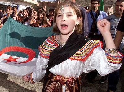 Robe kabyle de petite fille