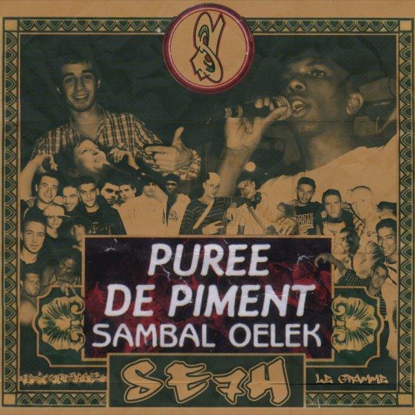 SAMBAL OELEK voila la pochette 7 LE GRAMME