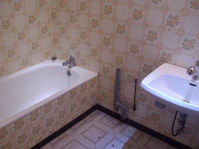 transformer une salle de bain, en salle d'eau
