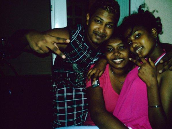 moi , ma sister et mon frère