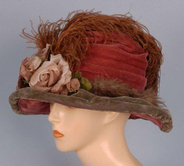 chapeau du 19ème siècle