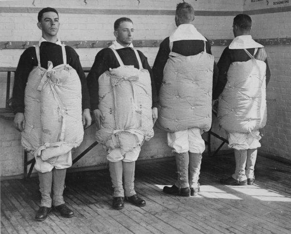 gilet de sauvetage 1917