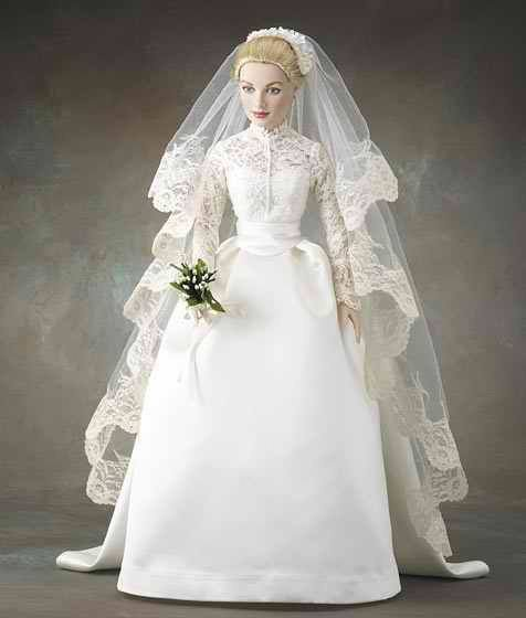 robe de mariée miniature GRACE KELLY