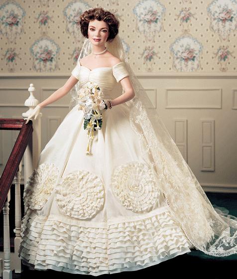 robe de mariée miniature JACKIE KENNEDY