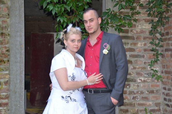 notre mariage le 9 août 2014 que du bonheur <3