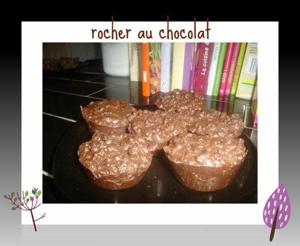 rocher au chocolats