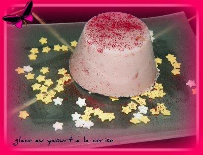 glace au yaourt a la cerise