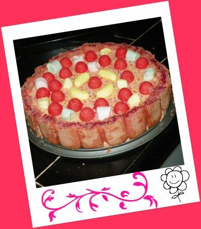 charlotte a la fraise tagada