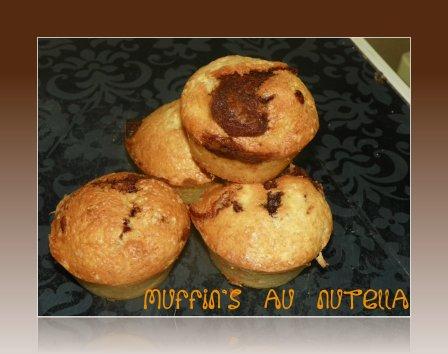 muffin's au nutella