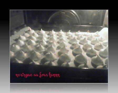 meringue avant cuisson