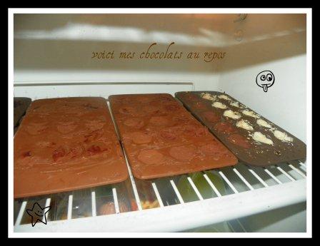 mes chocolats maison de noel