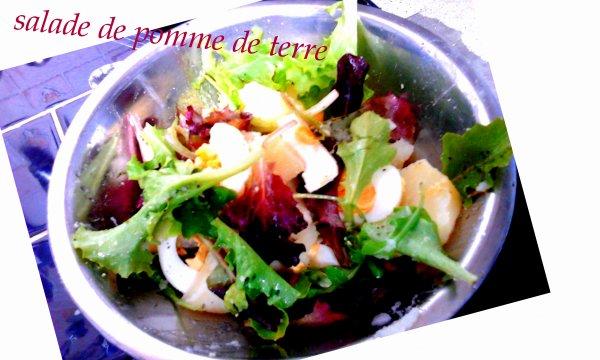 salade pomme de terre