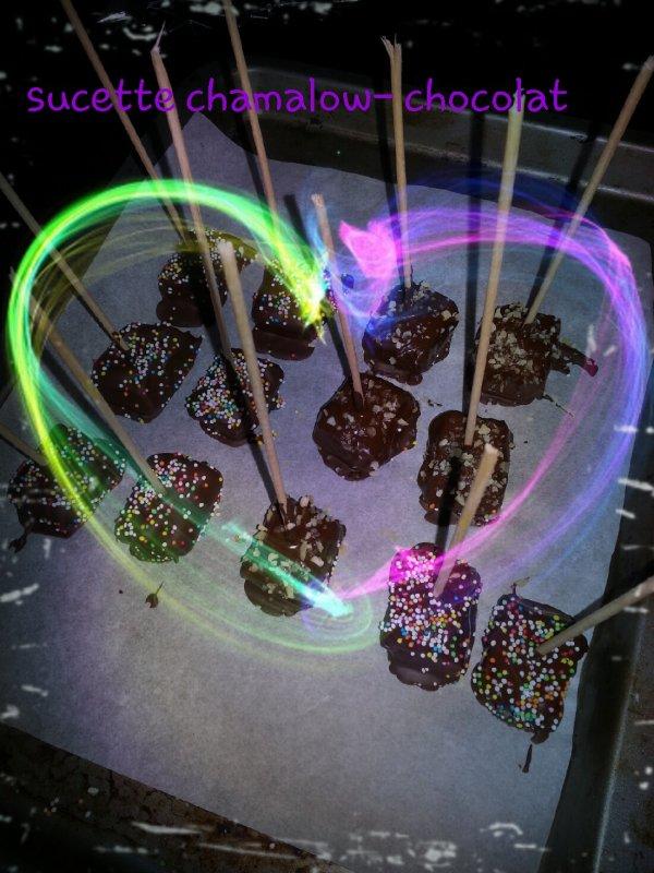 sucette chamalow-chocolat