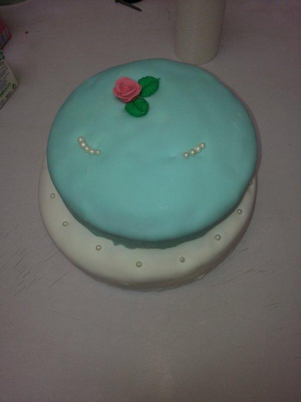 mon premier weeding cake