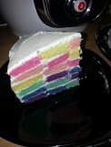 rainbow  cake  2 🎀