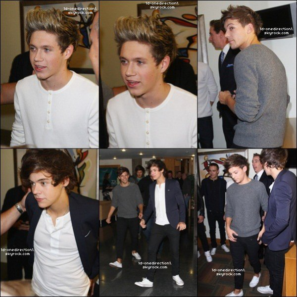 At the late  show, DUBLIN  (13.10.2012)