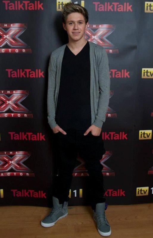 20.10.2012 - Niall à X Factor