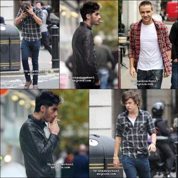 Les Garçons aujourd'hui a Londres 26.10.2012