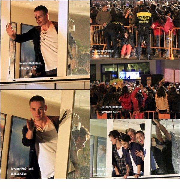 """D'autre photos et vidéo du Show des One Direction a """" EL Hormiguero """""""