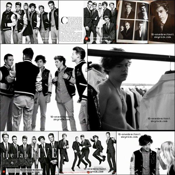 D'autres Photoshoot Boys des pour Vogue