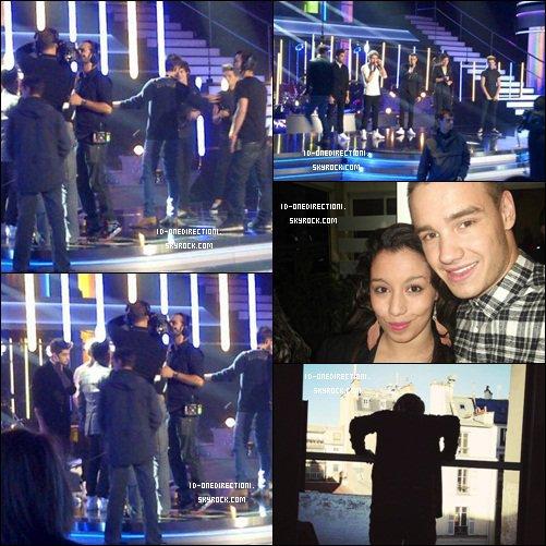 Séjour des One Direction a Paris : Showcase a NRJ / Danse Avec Les Star / Boite de nuit et photos avec leurs Fans
