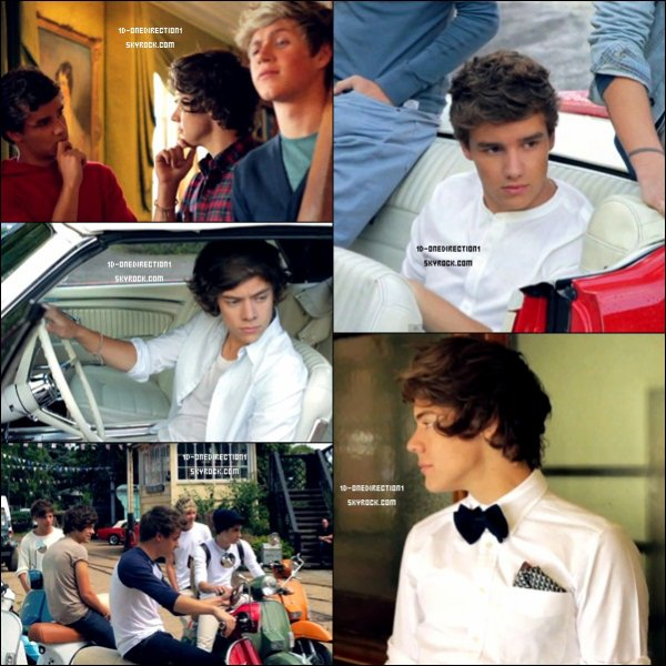 One Direction - Behind the scenes du photoshoot de l'album