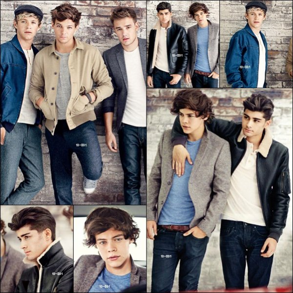 One Direction photoshoot pour Teen Vogue (08.11.2012)