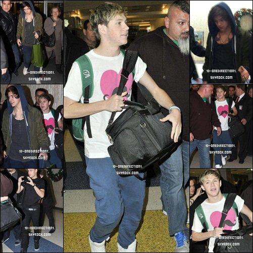 Liam , Harry et Niall a l'aéroport de NYC