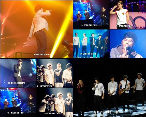 Concert des One Direction au Connecticut (30.11.2012)