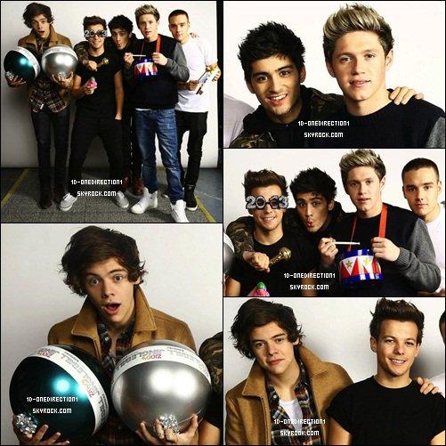 Les garçons Photoshoot, NY. (07.12.12)
