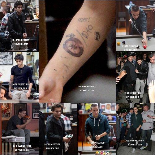 Les Garçons sans Harry a L'aeroport de Lax a L.A (20.12.2012)