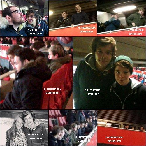 Niall a en Angleterre (21.01.2013)