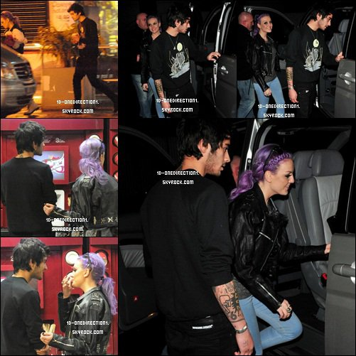 Zayn et Perrie a Cheshire en Angleterre (03.02.2013)