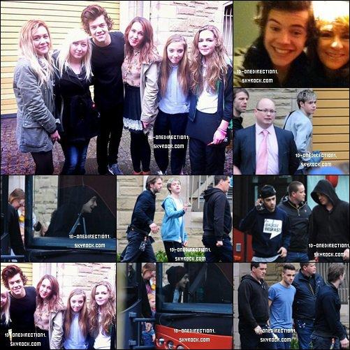 Les Garçons a Belfast, Northern Ireland - Mar 7/8, 2013