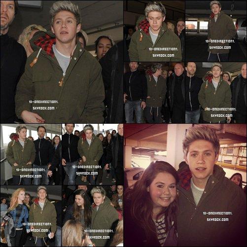 Niall à L'aéroport de Dublin (29.03.2013)