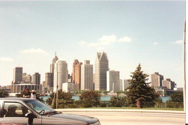 CM94 aux Etats Unis: Windsor et Detroit