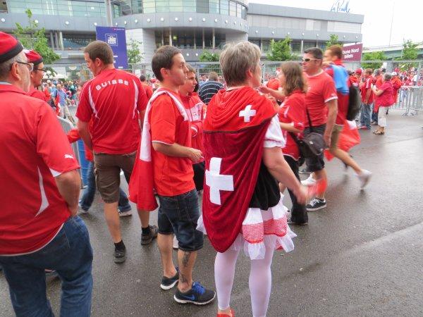 Suisse-Chypre 1-0: Stade de Genève, Genève. Le 8 juin 2013