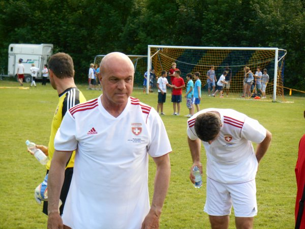 FC Peseux-Comète-Suisse Legends, Terrain de Chantemerle, Peseux, le 22 juin 2013