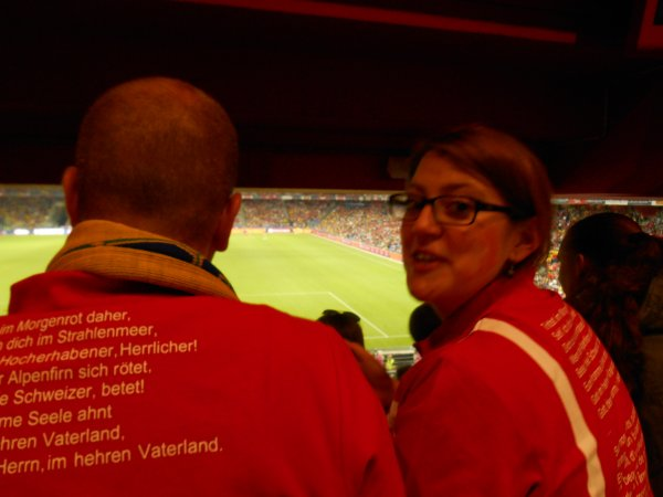 Suisse-Brésil 1-0, St-Jakob-Park, Bâle
