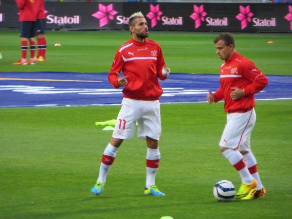 Norvège-Suisse 0-2: Ullevaal Stadium, Oslo, le 10 septembre 2013