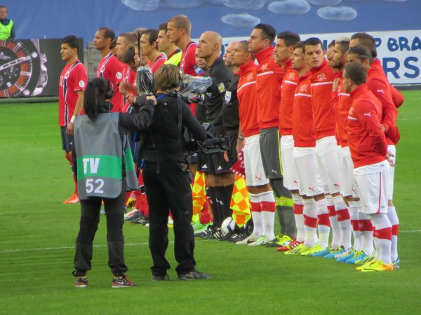 Norvège-Suisse 0-2: Ullevaal Stadium, Oslo. Le 10 septembre 2013