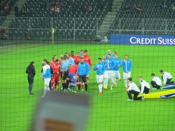 Suisse-Slovénie 1-0, Stade de Suisse, Berne