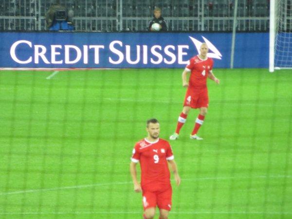 Suisse-Slovénie 1-0 : Stade de Suisse, Berne