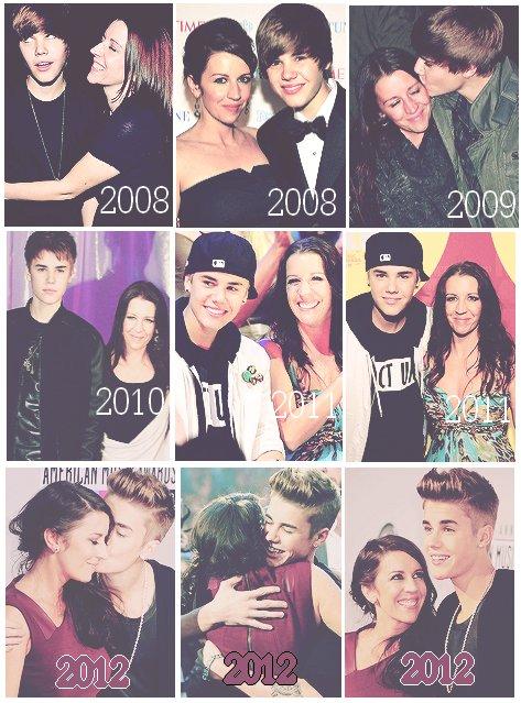 Justin et Pattie ♥