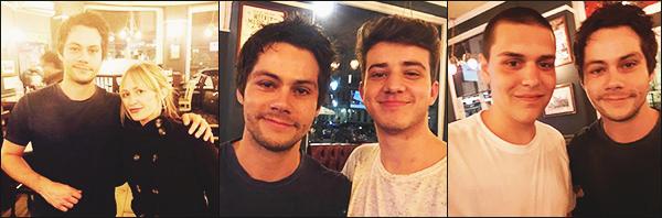 .03.07.17 ▬ Dylan a prit le temps de poser avec quelques fans, alors qu'il se trouvait dans Londres  On ne sais pas pourquoi Dylan est à Londres ni combien de temps il reste pour le moment, mais sa fais plaisir d'avoir des petites news ! Avis ?