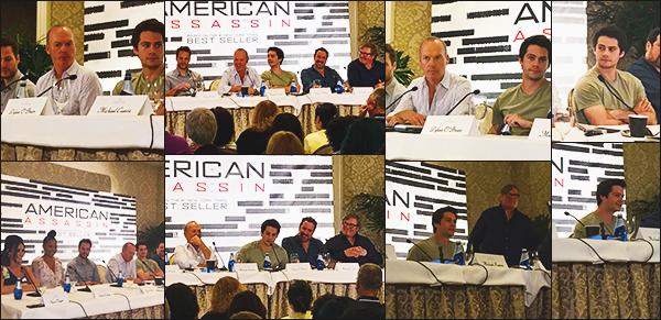 .26.07.17 ▬ Dylan était présent à une conférence de press pour son prochain film American Assassin  La promo commence pour Dylan, le film sort en septembre, on a hâte de voir les avants premières pour ce film. Les photos sont magnifique! Avis?
