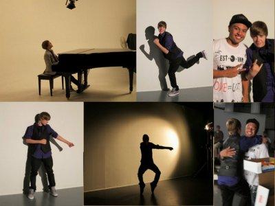 Voici quleques photo du tournage du clip U smile