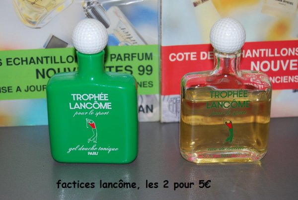 Factices Lancôme (petit format)