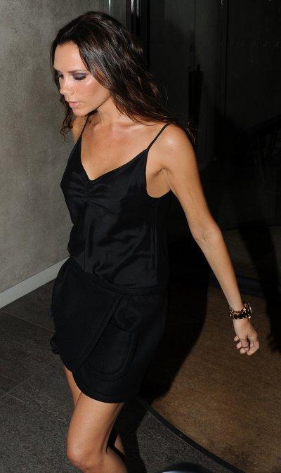 Victoria Beckham au Restaurant MAZE avec Eva Longoria & Gordon Ramsey - 04.09.2010