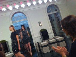 Victoria Beckham en direct de la Fashion Week de New York